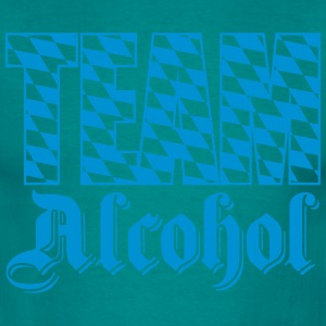 team alcohol flagge blau weiß bayern official crew