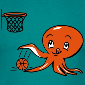 Squid oktopus funny funny basketball