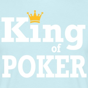 King of Poker - T-skjorte for menn