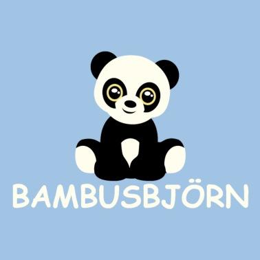 Pandabar Bambusbjorn Baby Kurzarmbody Spreadshirt