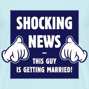 Shocking News: This Guy Is Getting Married! 2C