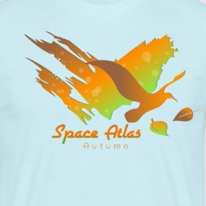 Space Atlas huppari Autumn Leaves - Miesten t-paita