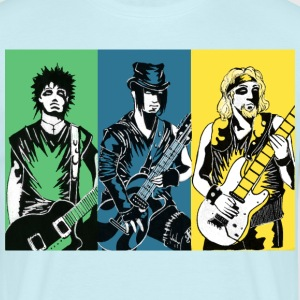 Punk Rock Metal - Mannen T-shirt