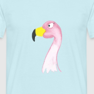 flamingo - T-skjorte for menn
