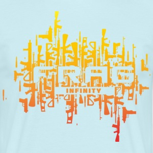 Infinity CS Frag Sunset - Men's T-Shirt