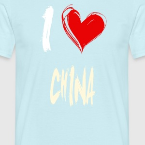 I love china - T-shirt Homme