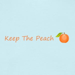 Keep the sweet peach with peach - Men's T-Shirt