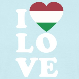 I love Hungary - Men's T-Shirt