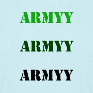 colored army slogan - Men's T-Shirt