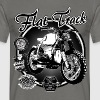 N°158-Flat-Track - T-shirt Homme