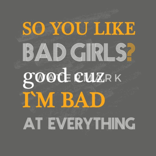 men like bad girls
