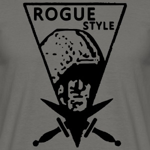 Rogue Vintage Style - T-shirt Homme