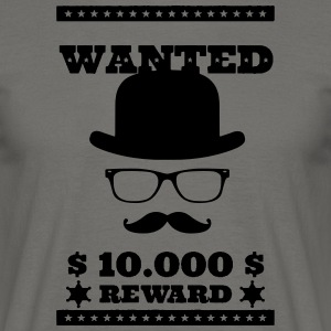 Wanted Dead or Alive - Mannen T-shirt
