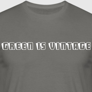 Green.is.vintage.2 - Männer T-Shirt