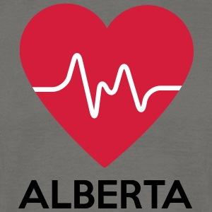 heart Alberta - Men's T-Shirt