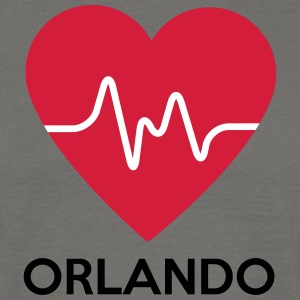 heart Orlando - Men's T-Shirt