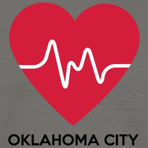Heart Oklahoma City - Herre-T-shirt