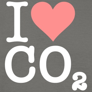 I Love CO2 - Men's T-Shirt