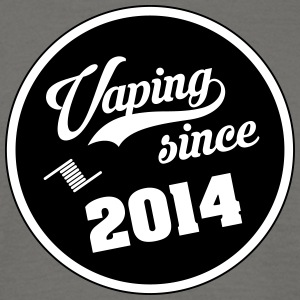 Vaping siden 2014 - T-skjorte for menn