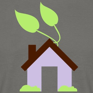 Green House Icon - Herre-T-shirt