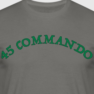 45 Commando - T-skjorte for menn