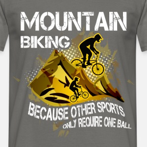 Mountain bike, because other sports only require o
