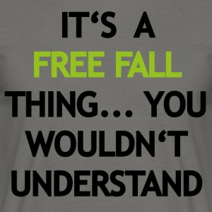 Free Fall Thing - Mannen T-shirt