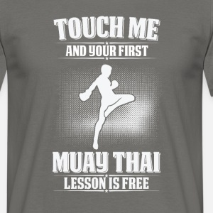 Touch me - first Muay Thai lesson free