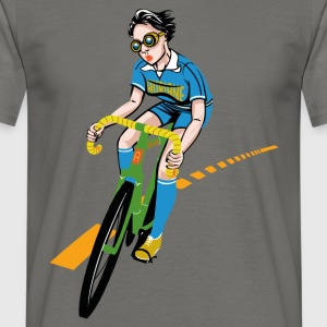 The Bicycle Girl - Herre-T-shirt