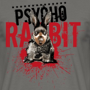 Psycho Rabbit - Men's T-Shirt