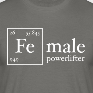 Fe Powerlifter - Men's T-Shirt