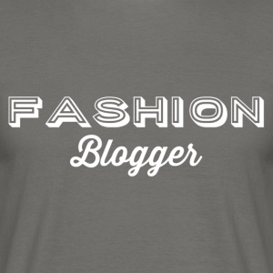 Fashion Blogger 2 - vit - T-shirt herr