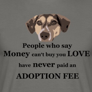 TS adoption fee - Männer T-Shirt