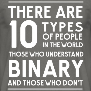 10 types of people Binary and those who don't