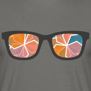 color glasses - Men's T-Shirt