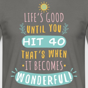 Wonderful - Camiseta hombre