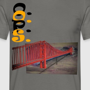 golden gate - Mannen T-shirt