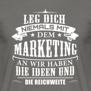 Marketing - Männer T-Shirt
