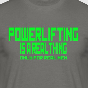 REAL THING Green - Men's T-Shirt