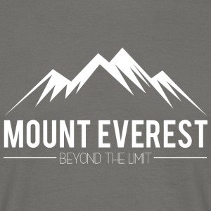 Everest Beyond the Limit - T-skjorte for menn