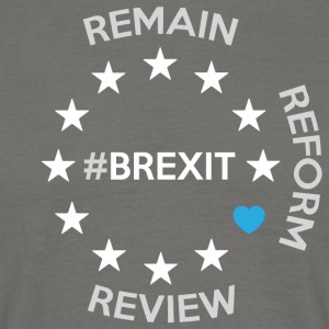 Brexit - T-skjorte for menn