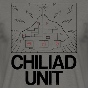 Chiliad Unit - T-skjorte for menn