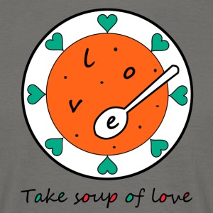 Love Soup - Men's T-Shirt