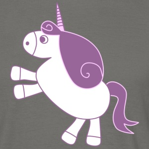 unicorn - T-shirt herr