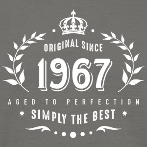 original since 1967 simply the best 50th birthday - Men's T-Shirt