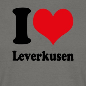 I love Leverkusen - Men's T-Shirt