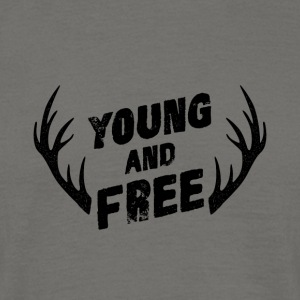Young and Free - T-shirt herr
