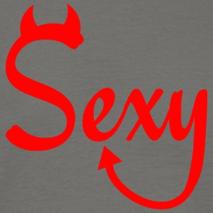 SEXY BUT POWERFUL RED - Men's T-Shirt