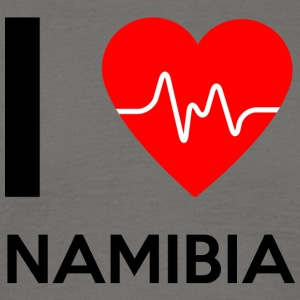 I Love Namibia - I Love Namibia - T-skjorte for menn