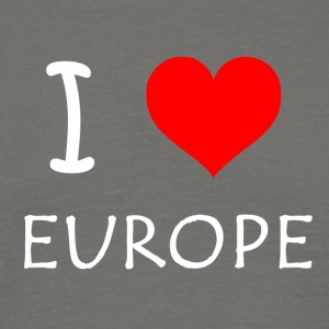 I love Europe - Männer T-Shirt